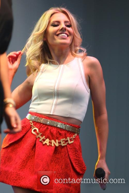 mollie king the saturdays performing live on 3595991