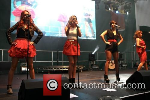 Una Healy, Mollie King, Frankie Sandford and Vanessa White 3