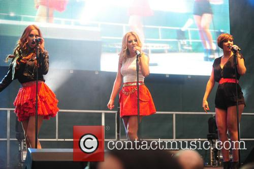 The Saturdays, Una Healy, Mollie King and Frankie Sandford 9