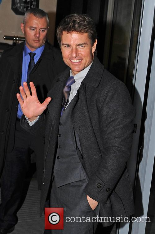 Tom Cruise heliport