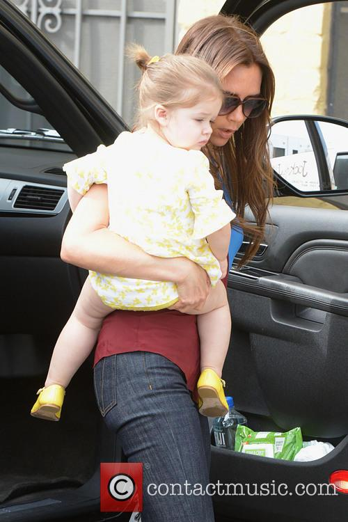 Victoria Beckham and Harper Beckham 13