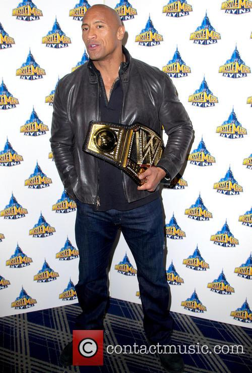 Dwayne Johnson, Wrestlemania '29 Press Conference