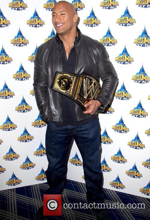 Dwayne Johnson, Wrestlemania 29 Press Conference