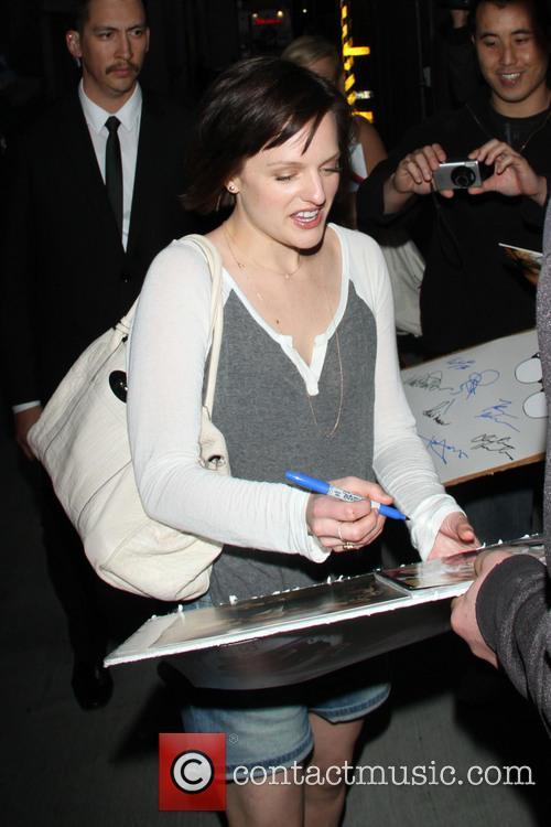 Elisabeth Moss, Jimmy Kimmel