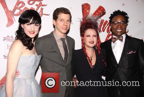 Celina Carvajal, Stark Sands, Cyndi Lauper and Billy Porter 1