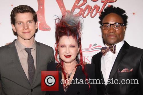 Stark Sands, Cyndi Lauper and Billy Porter 3