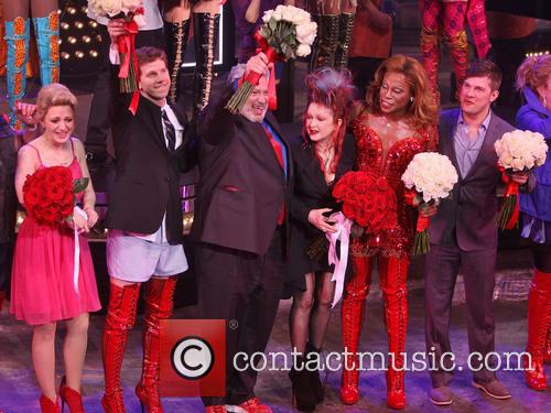 Cyndi Lauper, Harvey Fierstein, Annaleigh Ashford, Billy Porter and Stephen Oremus 3