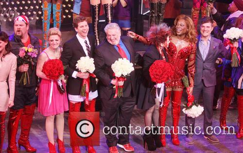 Daniel Sherman, Annaleigh Ashford, Stark S, S, Harvey Fierstein, Cyndi Lauper, Billy Porter and Stephen Oremus 4