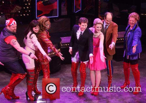 Daniel Sherman, Celina Carvajal, Billy Porter, Stark S, S, Annaleigh Ashford, Marcus Neville and Jennifer Perry 3