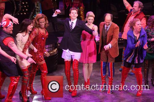 Daniel Sherman, Celina Carvajal, Billy Porter, Stark S, S, Annaleigh Ashford, Marcus Neville and Jennifer Perry 1