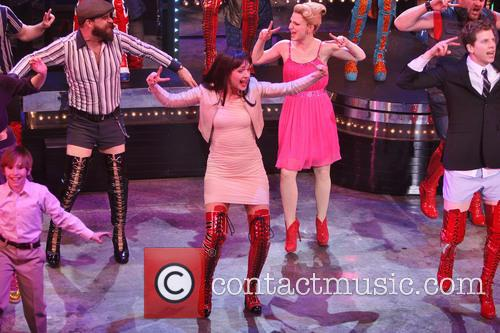 Kinky Boots, Eric Anderson, Celina Carvajal and Annaleigh Ashford 4