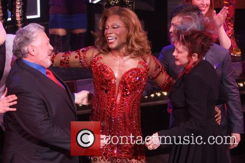 Harvey Fierstein, Billy Porter and Cyndi Lauper 2