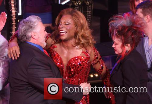 Harvey Fierstein, Billy Porter and Cyndi Lauper 3