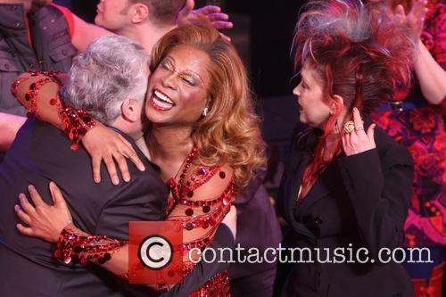 Harvey Fierstein, Billy Porter and Cyndi Lauper 1