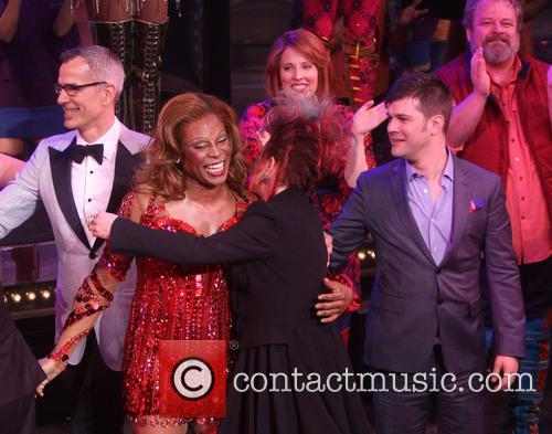 The Broadway opening night of 'Kinky Boots'