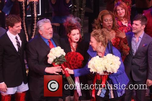 Stark S, S, Harvey Fierstein, Cyndi Lauper, Jennifer Perry, Billy Porter, Tory Ross and Stephen Oremus 1