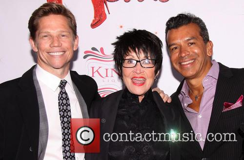 Jack Noseworthy, Chita Rivera and Sergio Trujillo 9
