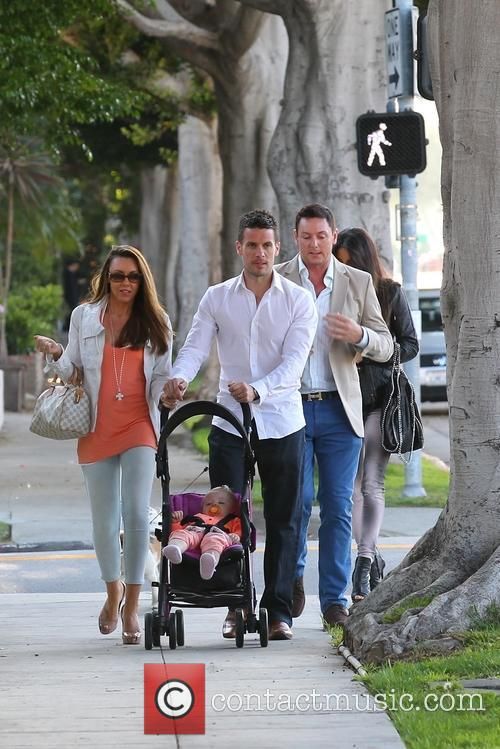Michelle Heaton, Hugh Hanley, Faith Michelle Hanley and Leilani Dowding 2