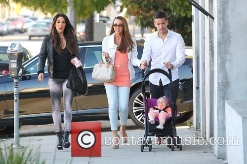 Michelle Heaton, Hugh Hanley, Faith Michelle Hanley and Leilani Dowding 22