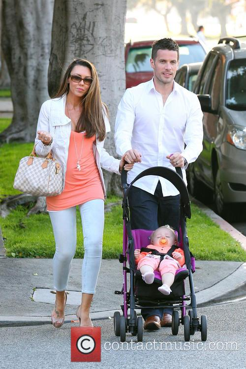 Michelle Heaton, Hugh Hanley and Faith Michelle Hanley 6