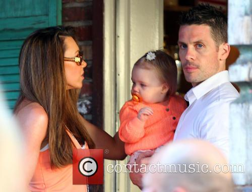 Michelle Heaton, Hugh Hanley and Faith Michelle Hanley 11