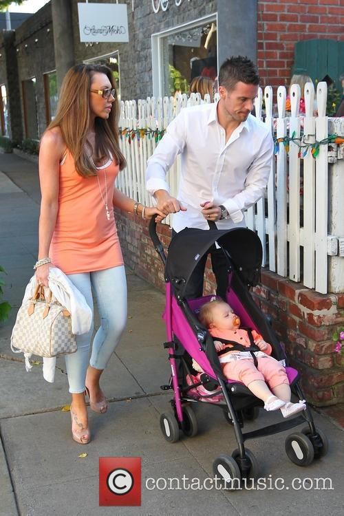 Michelle Heaton, Hugh Hanley and Faith Michelle Hanley 9