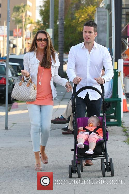 Michelle Heaton, Hugh Hanley and Faith Michelle Hanley 10