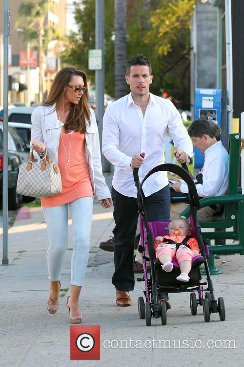 Michelle Heaton, Hugh Hanley and Faith Michelle Hanley 12