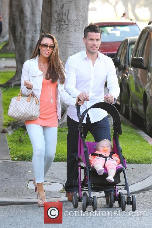 Michelle Heaton, Hugh Hanley and Faith Michelle Hanley 15