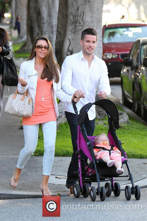 Michelle Heaton, Hugh Hanley and Faith Michelle Hanley 18
