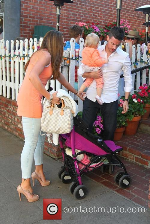 Michelle Heaton, Hugh Hanley and Faith Michelle Hanley 19