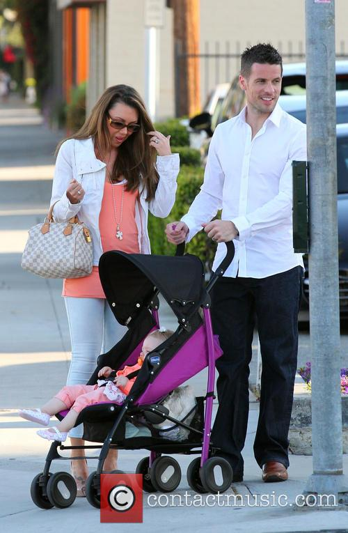 Michelle Heaton, Hugh Hanley and Faith Michelle Hanley 1