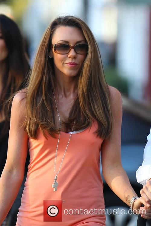 Michelle Heaton and her family head to The Ivy