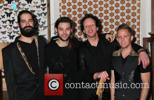 Priscilla Presley, Kyle Hamood, Navarone Garibadi, Chuck Holiday and Chris Hudson 8