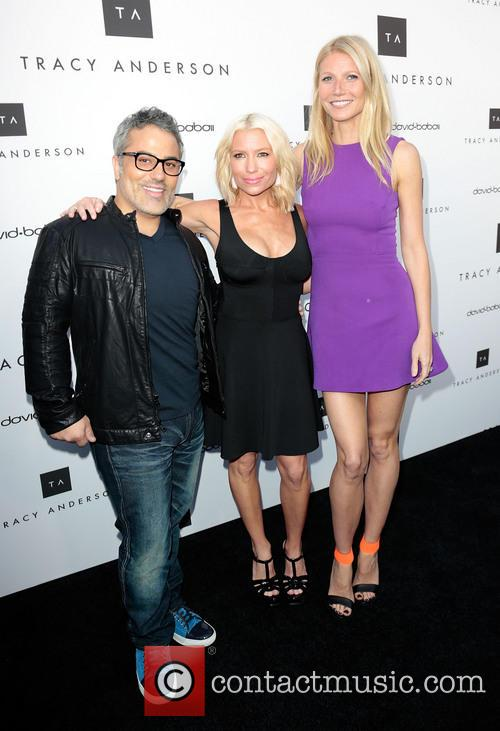 Gwyneth Paltrow, David Babaii and Tracy Anderson 9