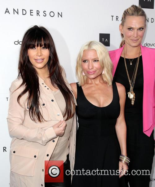 Kim Kardashian, Tracy Anderson and and Molly Sims 4