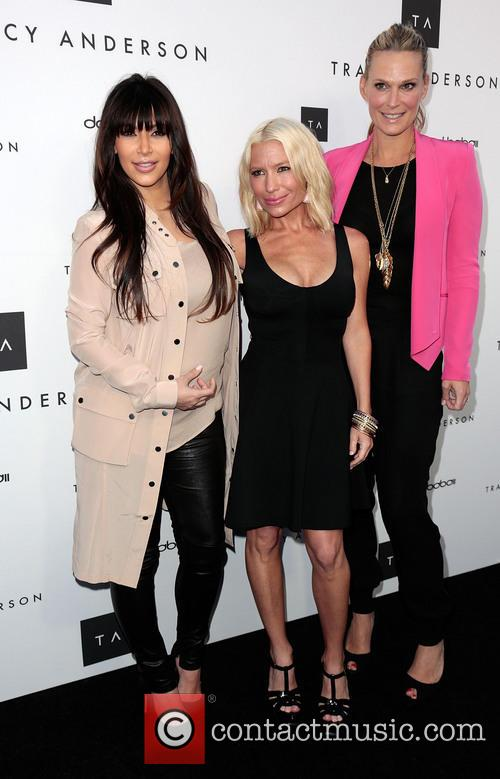 kim kardashian tracy anderson and molly sims the opening 3587770