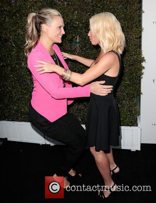 Molly Sims and Tracy Anderson 3