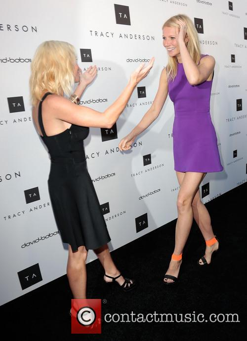 Tracy Anderson and Gwyneth Paltrow 9