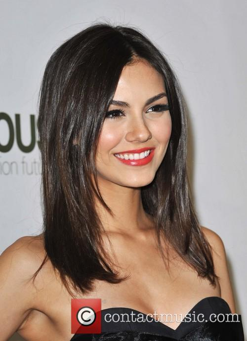 Victoria Justice Hosts launch of H&M's new collection.