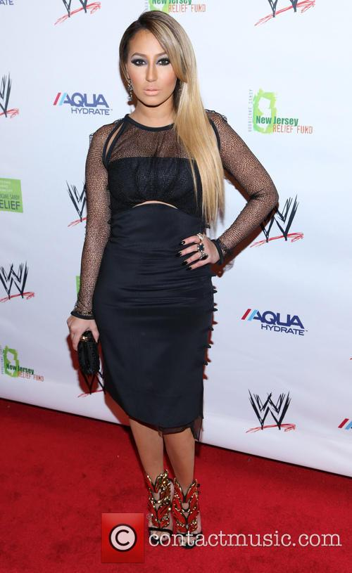 adrienne bailon wwe superstars for sandy relief 3587937