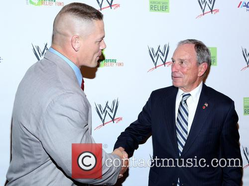 John Cena and Michael Bloomberg 3