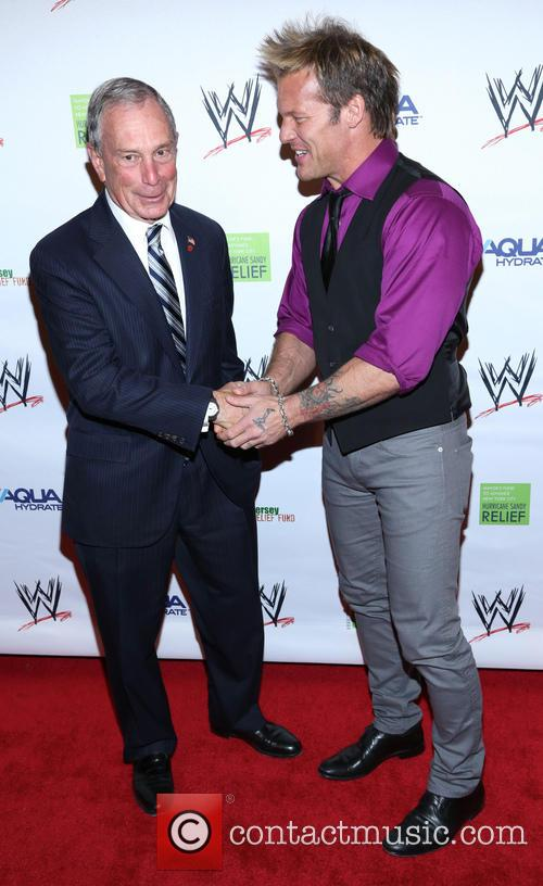 Michael Bloomberg and Chris Jericho 2