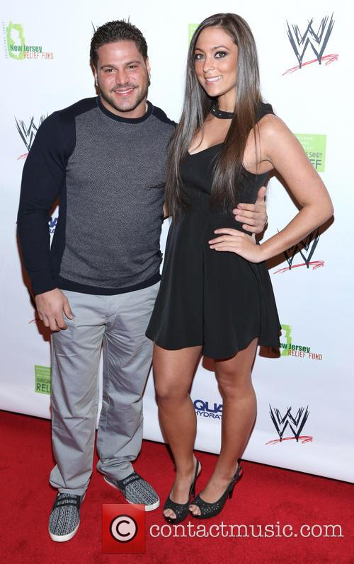 ronnie magro sammi giancola wwe superstars for sandy 3587957