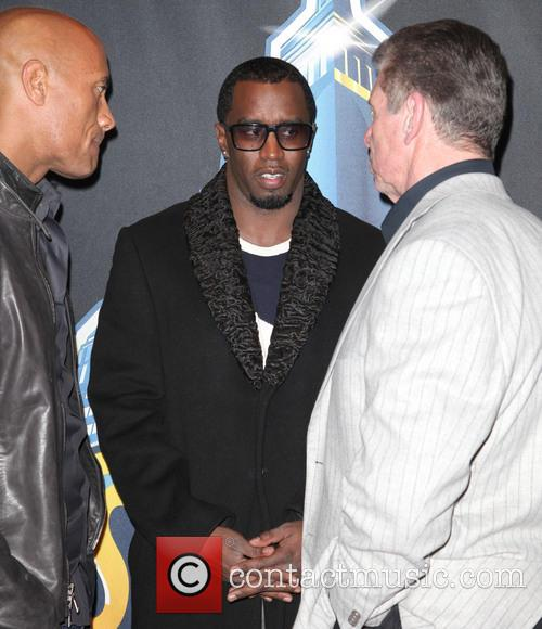 Dwayne Johnson, The Rock, Sean Combs and P Diddy 8