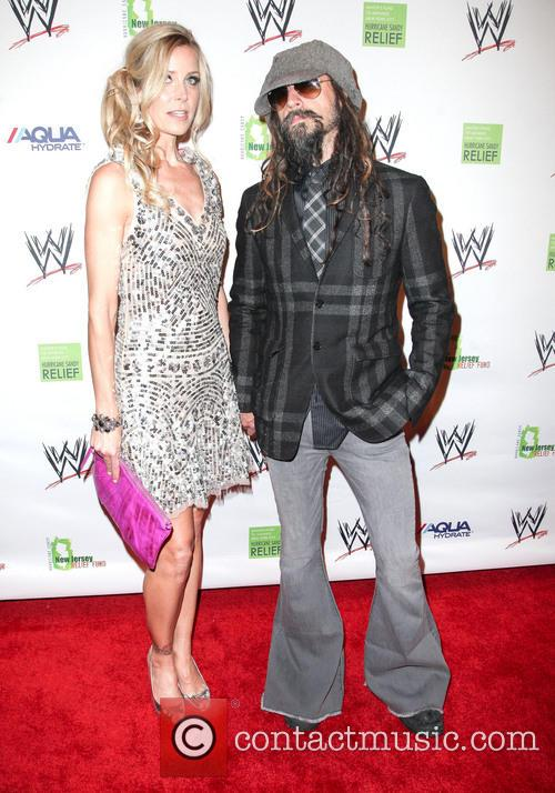 rob sheri zombie wwe superstars for sandy relief 3588266