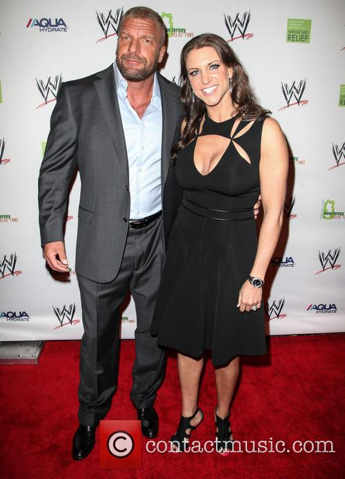 Triple H and Stephanie Mcmahon 4