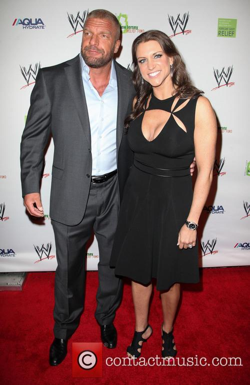 Triple H and Stephanie Mcmahon 1