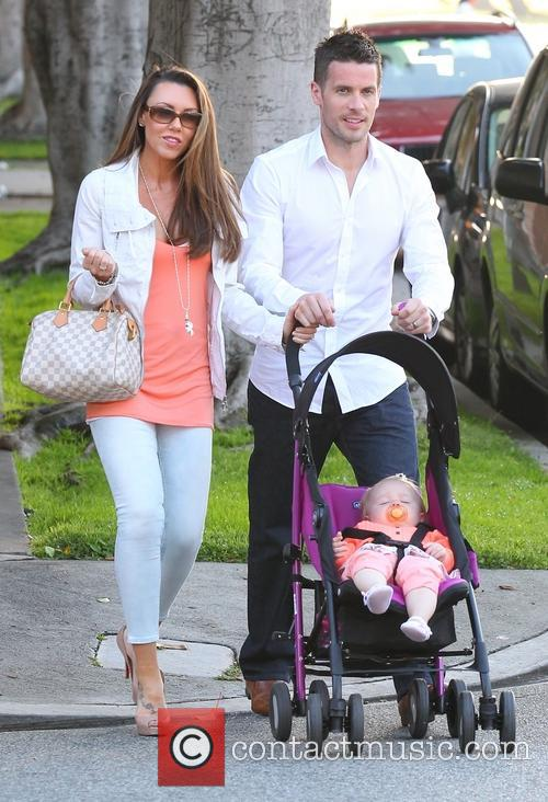 Michelle Heaton, Hugh Hanley and Faith Michelle Hanley 20