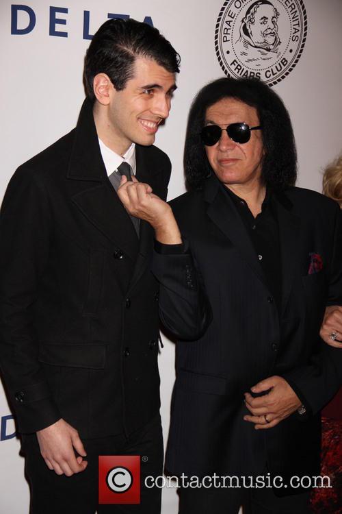 Nick Simmons and Gene Simmons 5